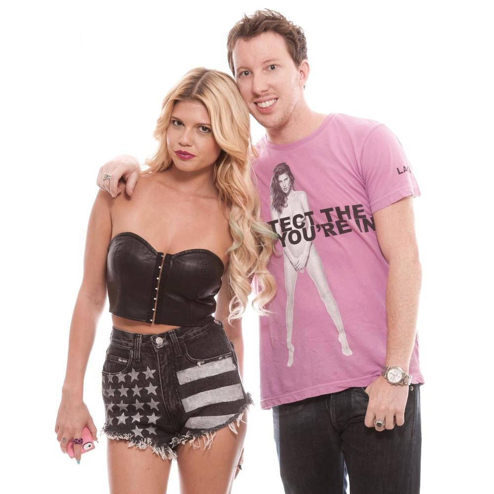 Brian with Chanel West Coast