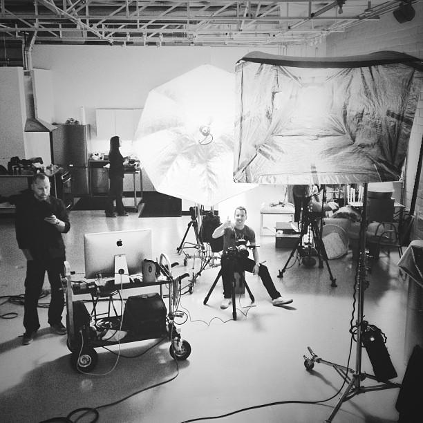 Brian Doherty in Studio