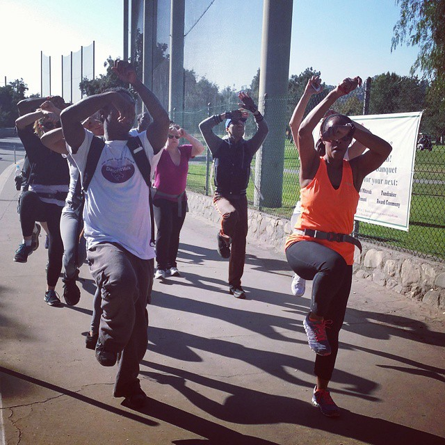 Are you ready to get #fit and #party? Join #DANCEFITWALK  at the #Rosebowl on Saturday, November 7th at 8am. Can't wait to see you there!! @morganmartin @kristinlavonne @wardjes2 @michaelmanuel13 @ladyladawn @richardlawson_rls