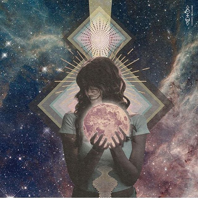 😍 ... All the art at @cosmiccollage speaks for itself, no caption needed. ✨🙌🏼🙏🏼 . . . #highvibrations #thirdeyethoughts  #thehigherself  #shamanichealing  #witchesofinstagram #theuniversehasyourback #cosmiclove #starseed  #createyourlife