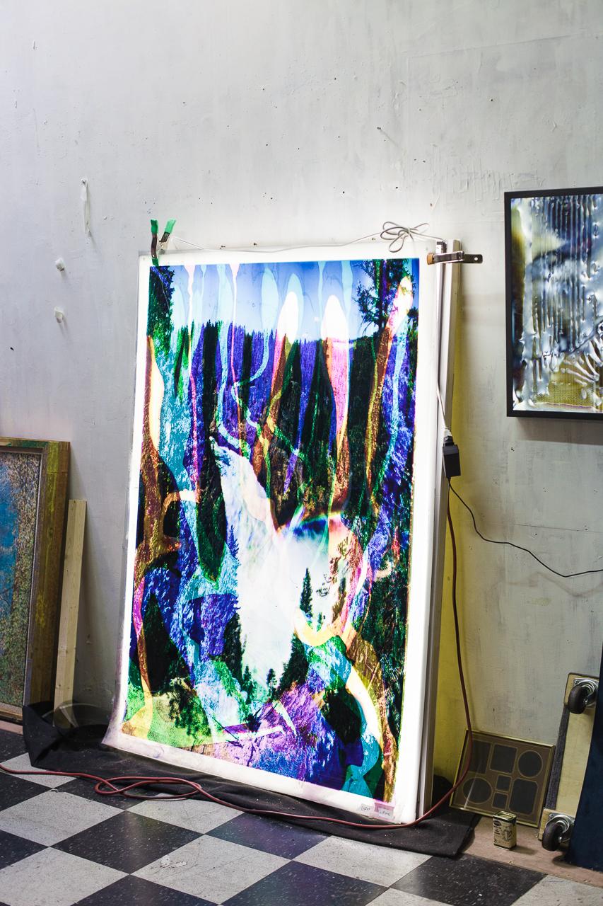Artist Studio Visit: Matthew Brandt, January 2015