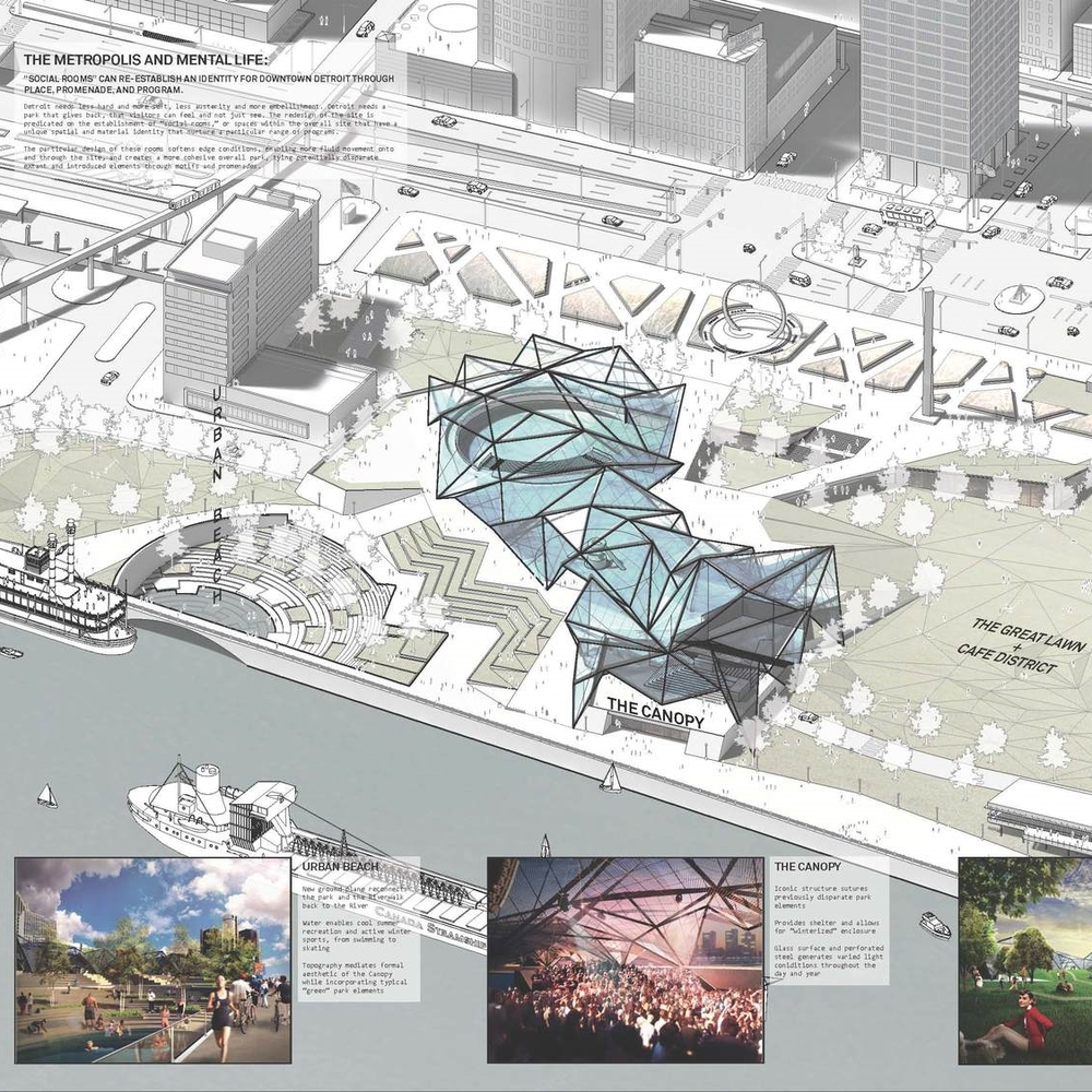Competition Proposal for Hart Plaza