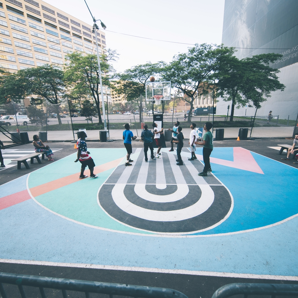 Campus Martius Basketball Courts
