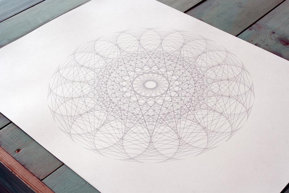 Gravity Mandalas