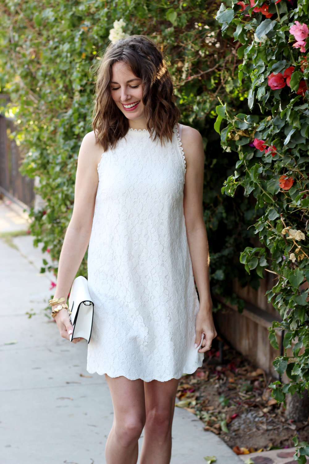 02960c3b3cc It s officially white-weather season! And that means it s time to find your  version of the perfect little white dress. With so many different cuts