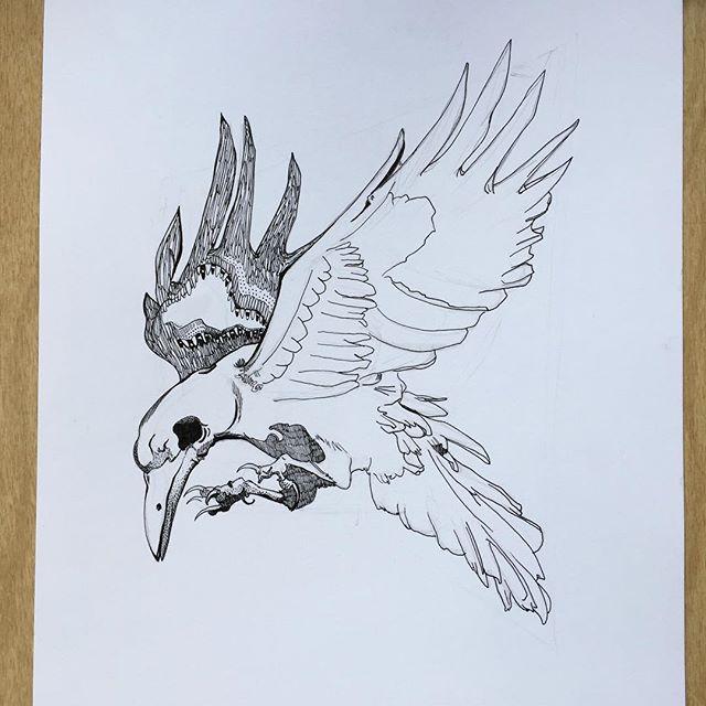 Raven in progress 🐦