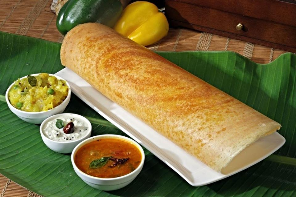 Dosa, Chutney and Sambar!
