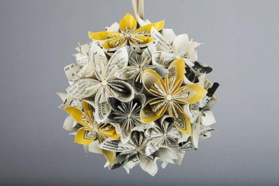 Origami Pomander DIY