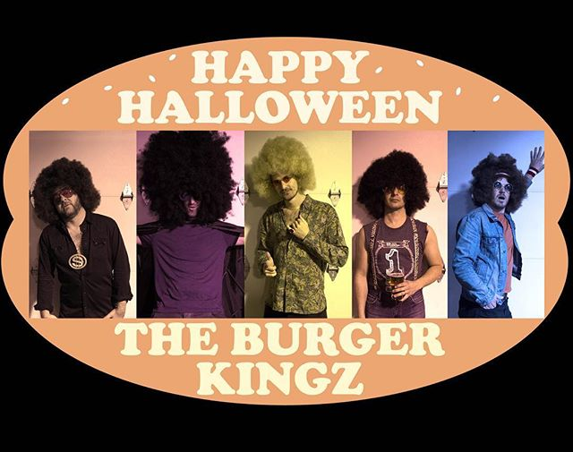 A  V E R Y  H A P P Y &  H A U N T E D  H A L L O W E E N - from our alterego: THE BURGER KINGZ. ||👑 🍔 👑|| #happyhalloween #theburgerkingz #comingsoon
