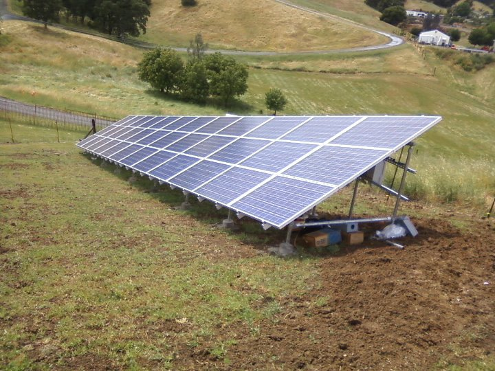System Size: 11 kW, Panels used: Evergreen. Sonoma, CA