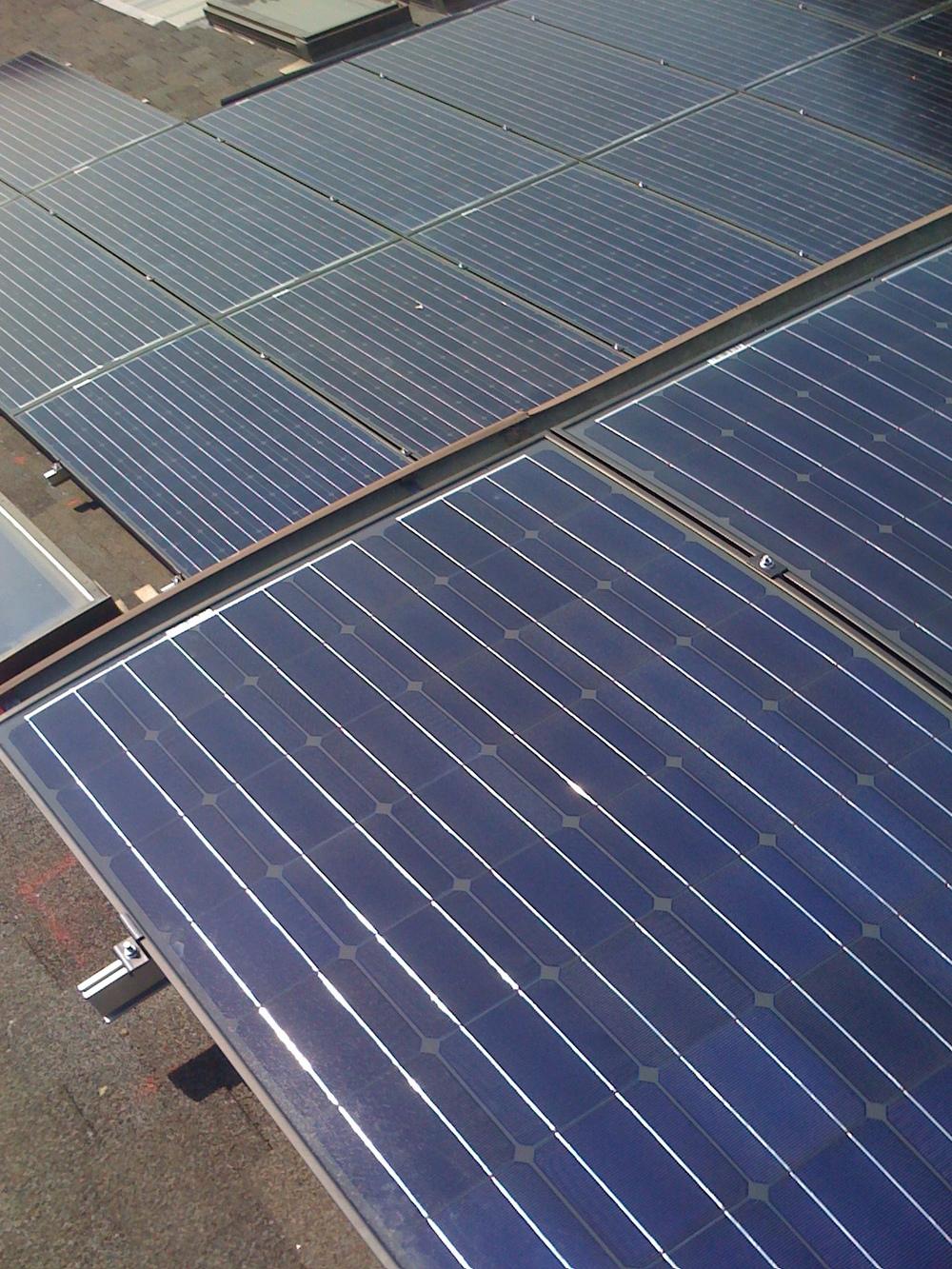 Detail of Solar Panels