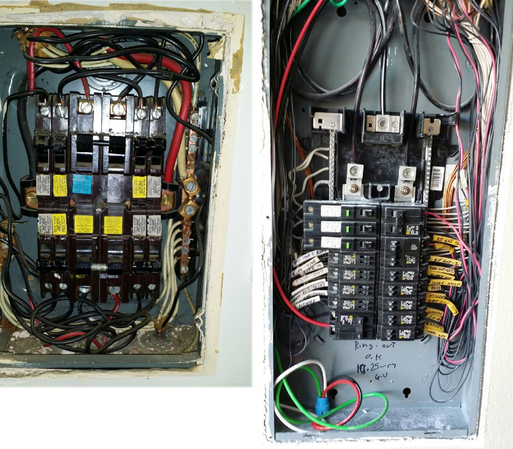 Welcome To Ally Solar Installer Electricians Ev Residential Wiring Upgrade Msp Before And After