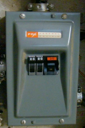 Federal Pacific (FPE) circuit breakers have proven to pose a real fire risk.