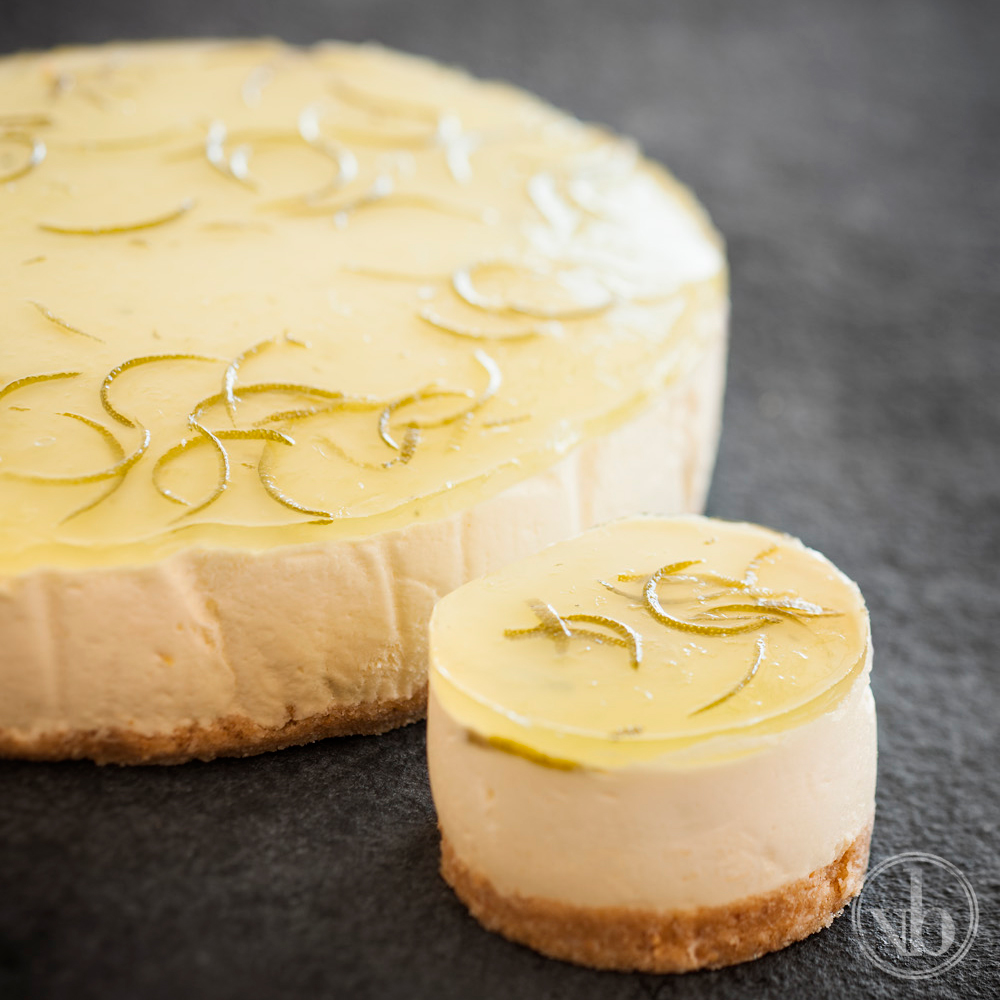 Lemon Lime Margarita Cheesecake