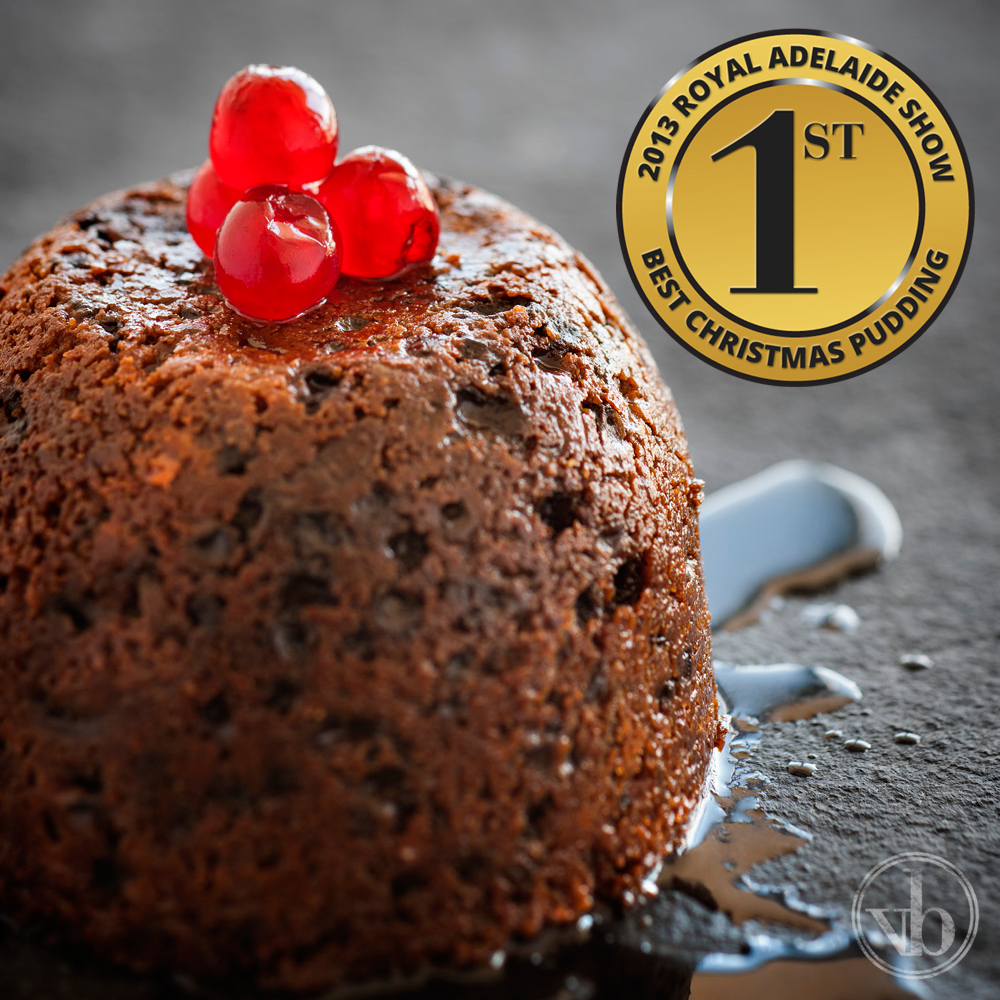 Ben's Christmas Pudding: 1st Place 2013 Royal Adelaide Show