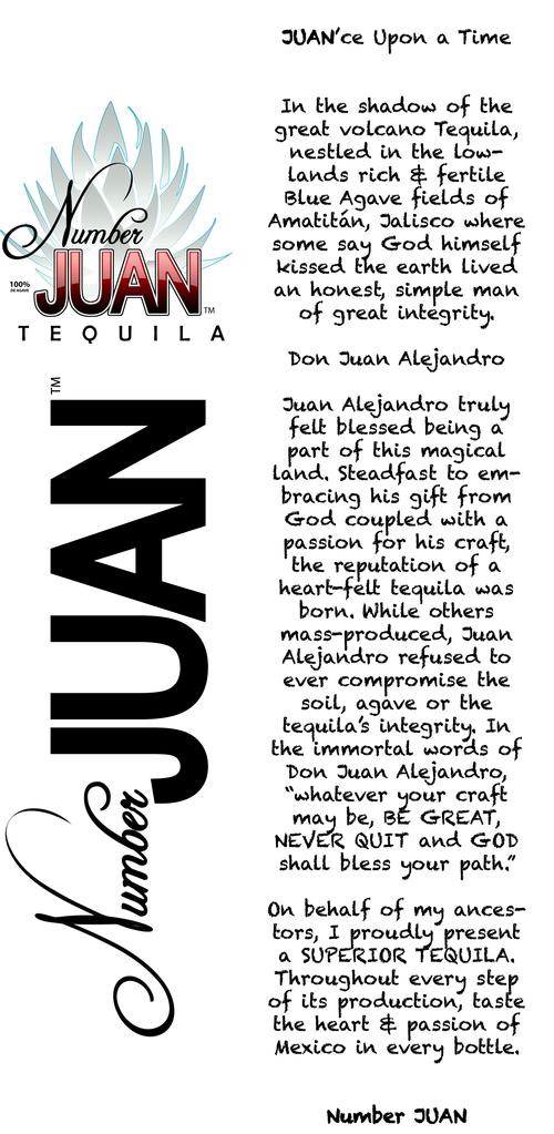 number juan tequila, tequila aficionado