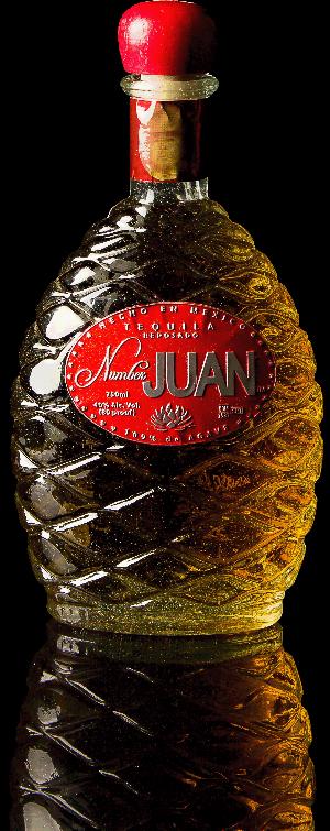 Number JUAN Tequila,Reposado.
