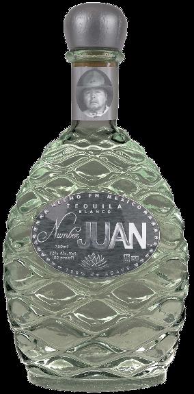 Number JUAN Tequila ,  Blanco .