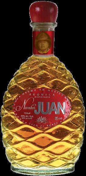 Number JUAN Tequila ,  Reposado.