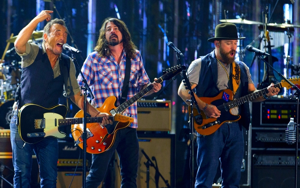 Bruce Springsteen, Dave Grohl, Zac Brown