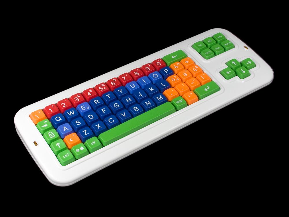 Forenklet PC-tastatur