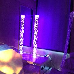 Boblerør, fiber-optikk, projekt-ører, lyseffekter
