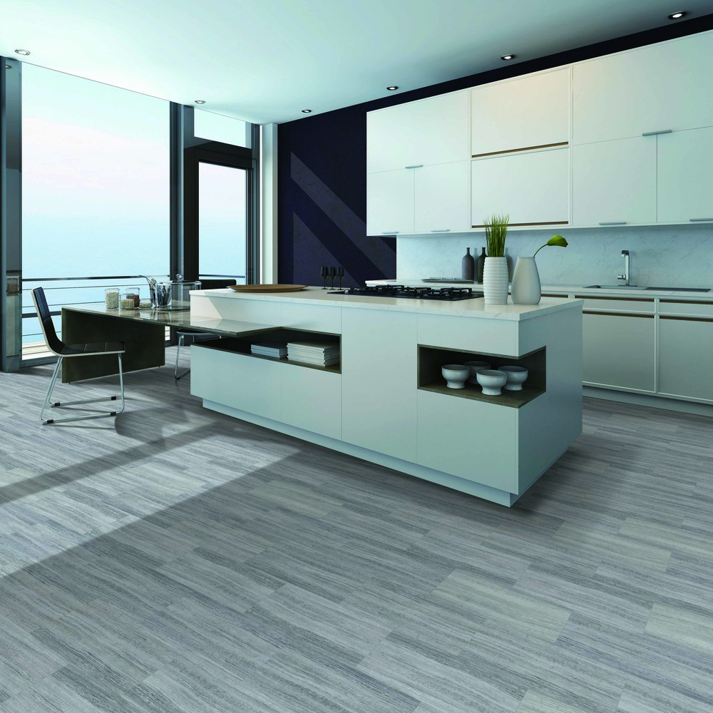 CoreMax - Click Tiles  Travertino Grigio 512003