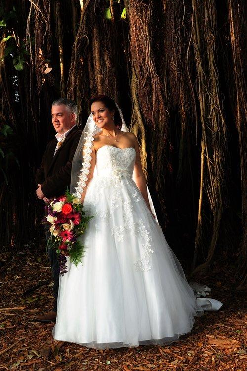 Blog A Rustic Themed Wedding Flamingo Gardens Fl