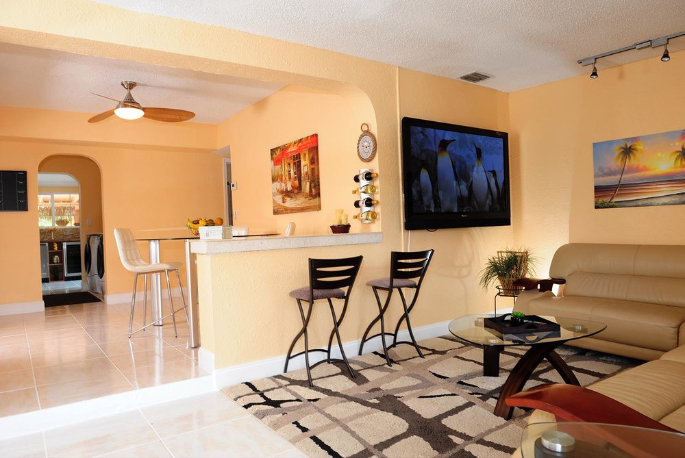 Total Gut Job and Renovated House In Ft. Lauderdale -