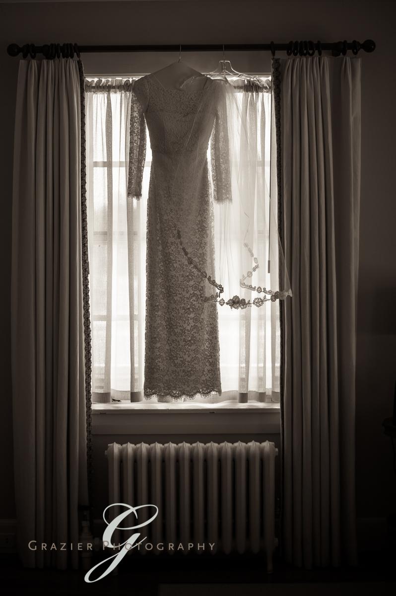 J. Crew wedding dress, Grazier Photography