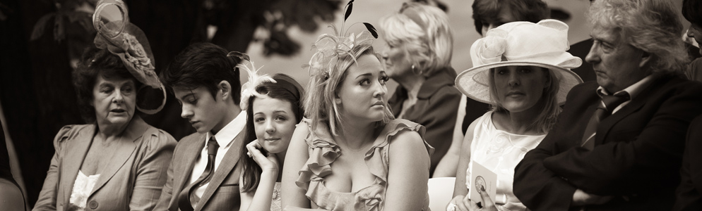 Hats and Fascinators at Winslow Estate Wedding
