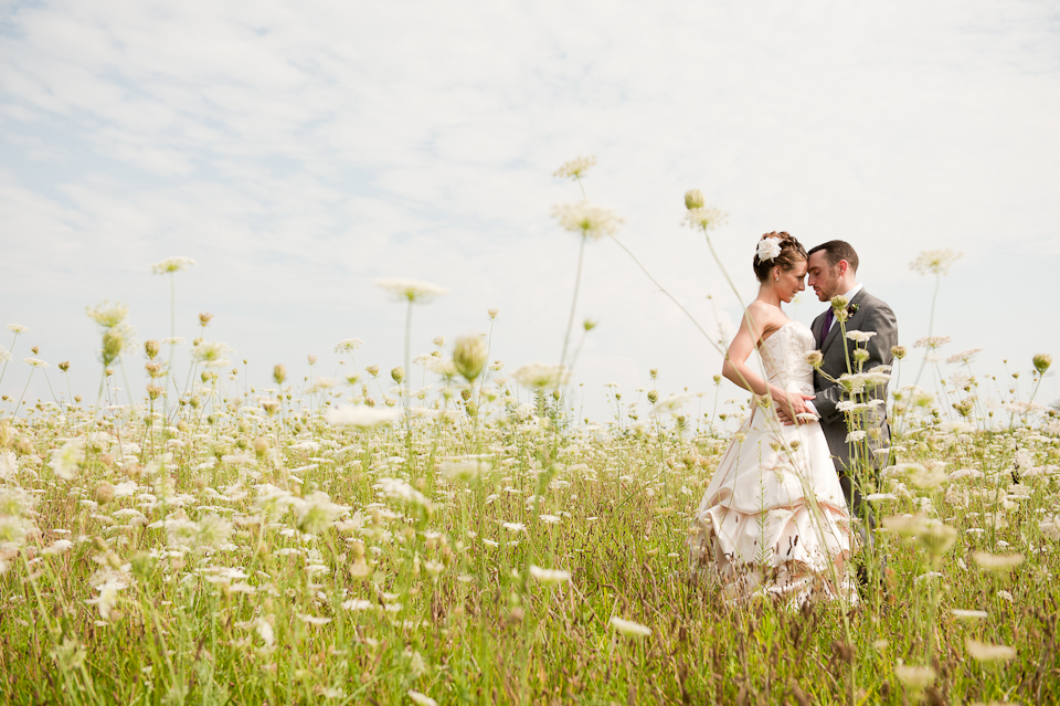 Heather and Matty  -   Saltwater Farm Vineyard , Stonington, CT