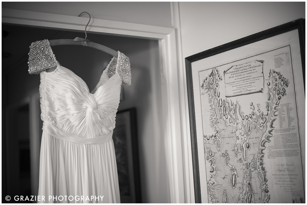 Rhode Island Map and Wedding Dress