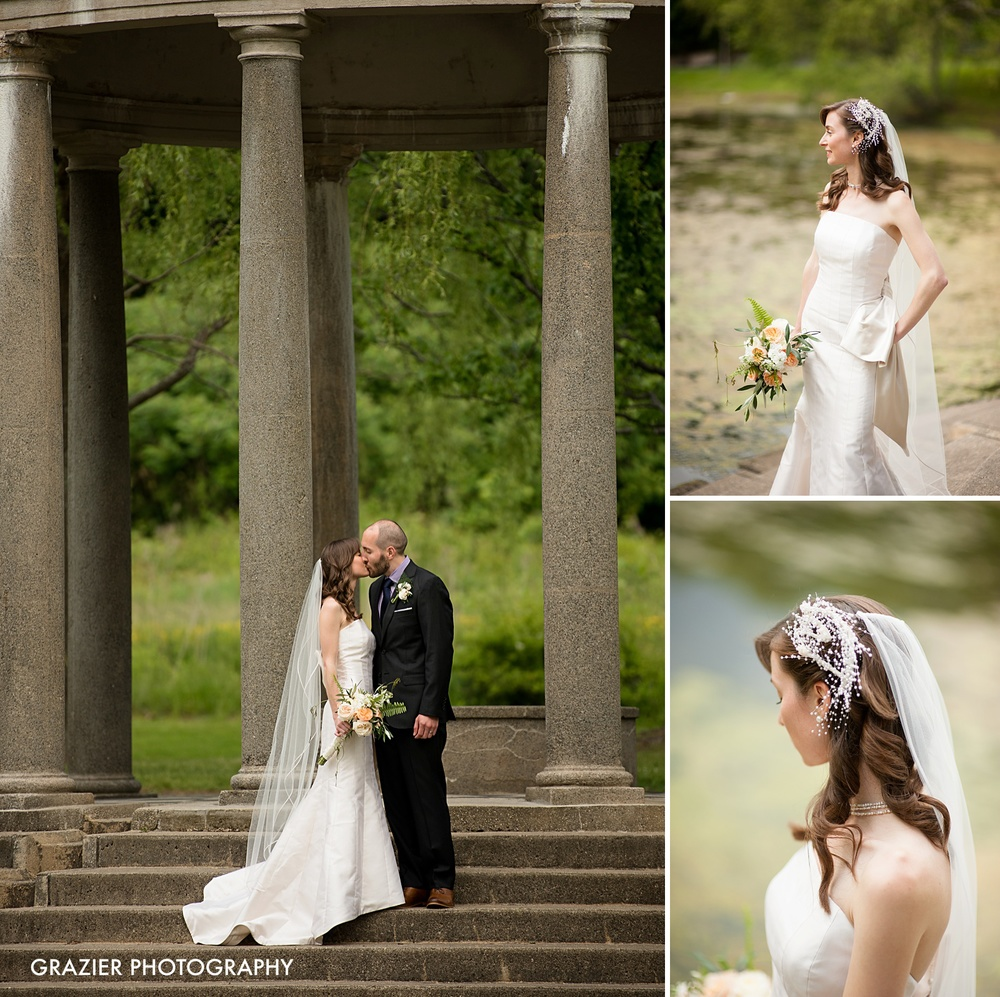 Metropolitan Waterworks Museum Wedding, Boston, by Grazier Photography, unique bride and groom portrait #industrialwedding #waterworkswedding #bostonwedding #bostonweddingphotography Pollen Floral Design #pollenfloraldesign #larzandersonwedding Larz Anderson Park Wedding