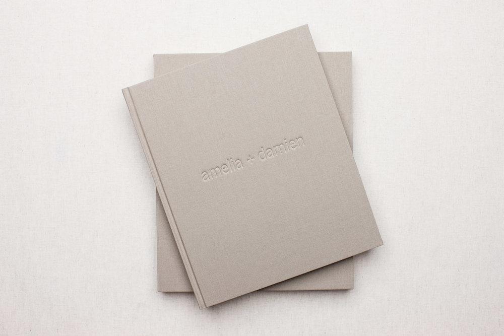 11 x 13 Camel Linen + Slip Case