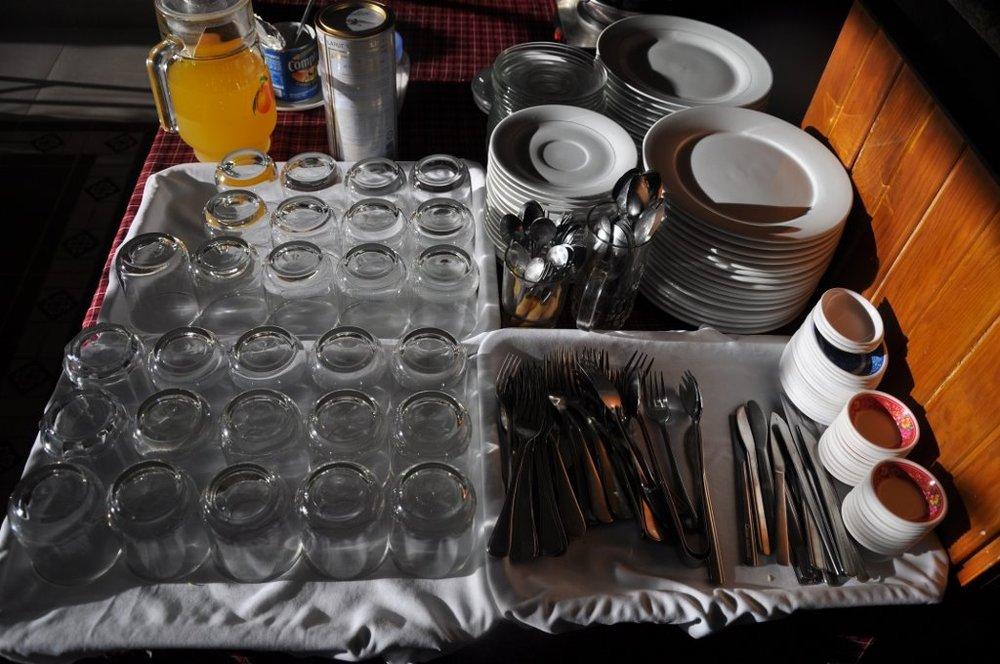 Complimentary buffet breakfast.