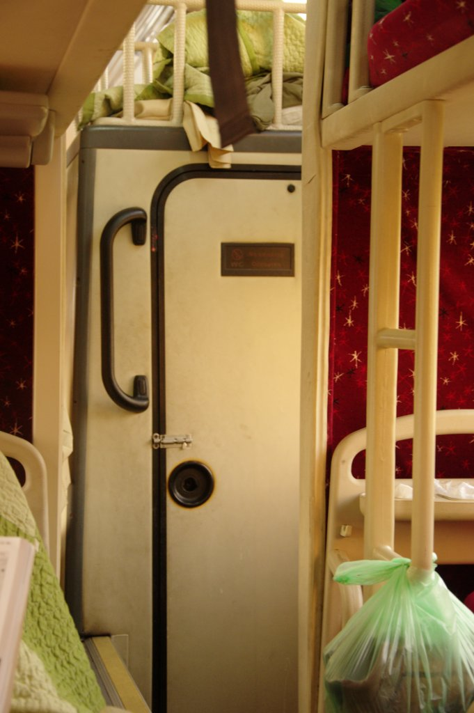 Luxury aeroplane-style toilet.