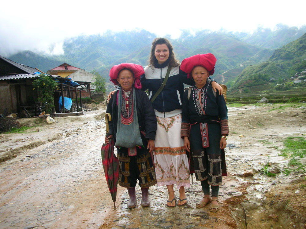 Here i am in lovely SaPa with some hill tribe ladies  DSCN6206  Originally uploaded by  Bickenchurger