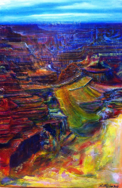 Canyons No. 1 acrylic L. Merriman $2255