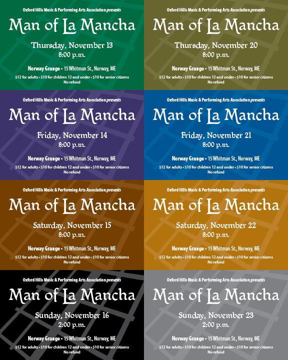 Man of La Mancha tickets