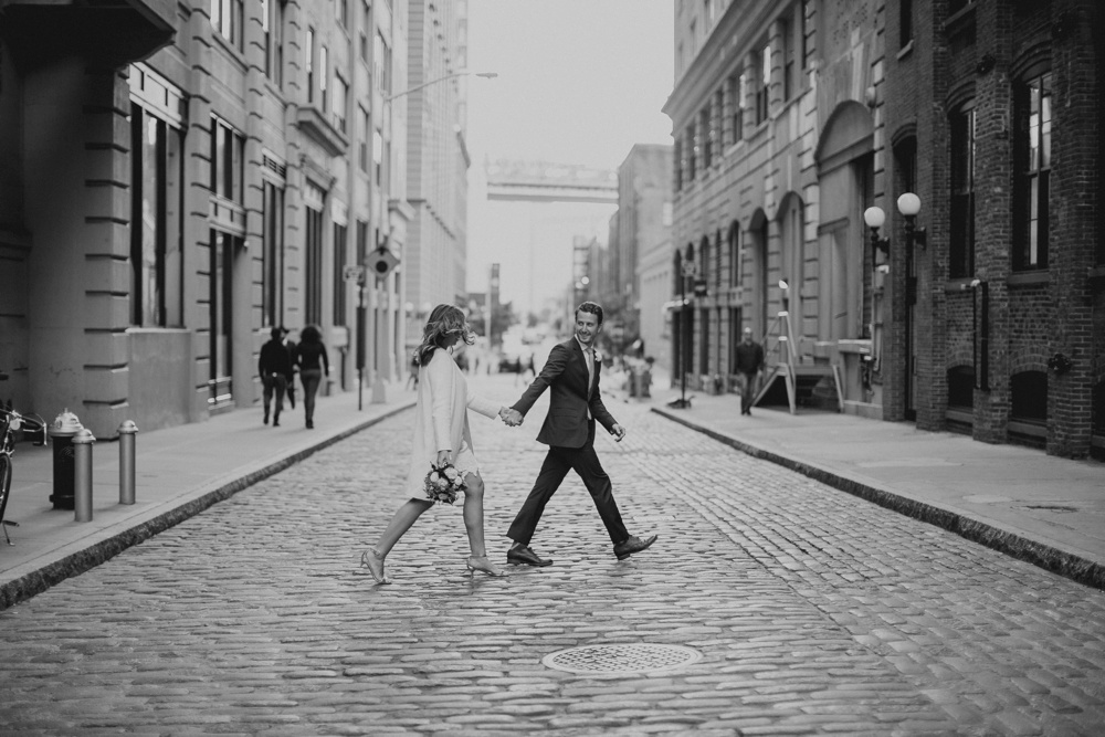 Laura and Ryan's New York City Elopement