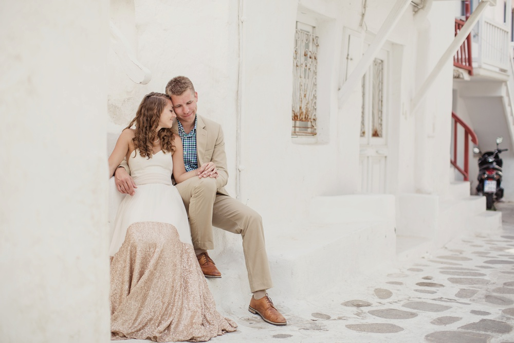 Kate and Donovan's  Greece Destination Wedding