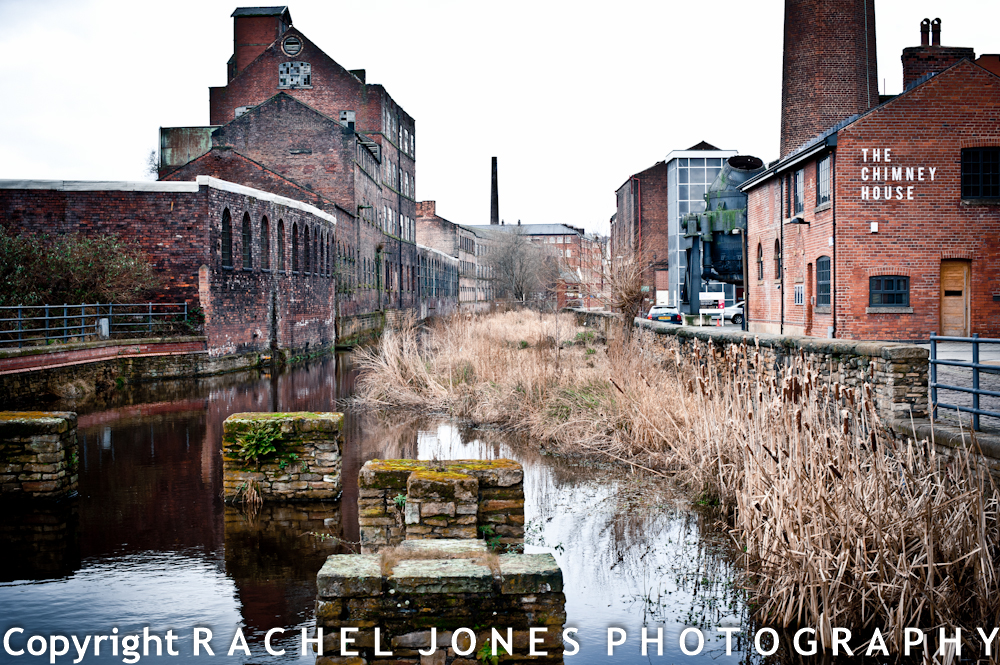 The Atmospheric surroundings of Sheffield's Kelham Island Industrial Museum