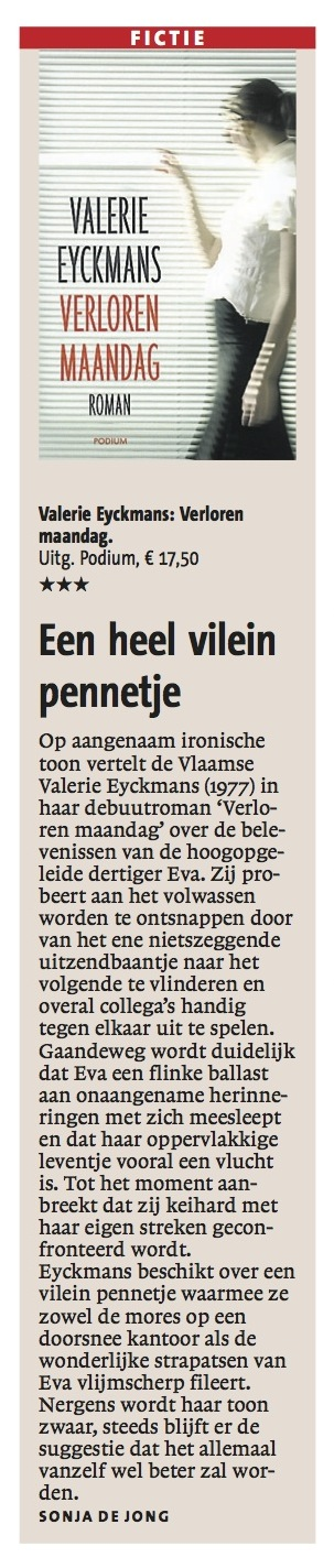 Haarlems Dagblad 4 april 2013