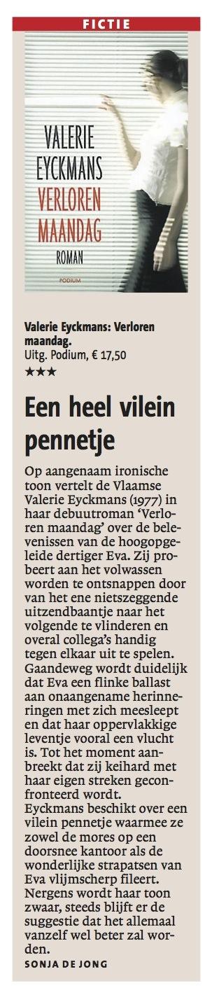 Haarlems Dagblad - april 2013