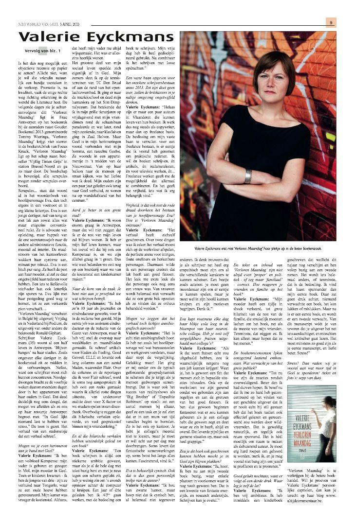 Nieuwsblad van Geel (2) - april 2013