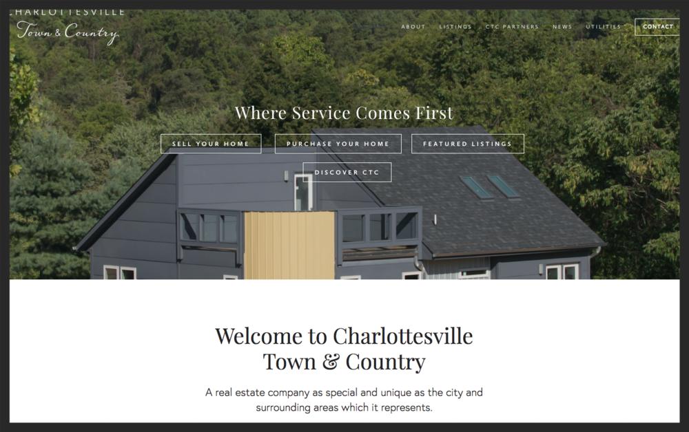 CharlottesvilleTownAndCountryHomePage