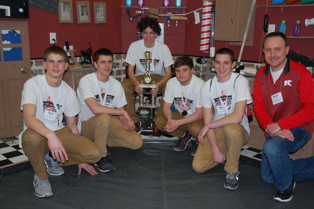 Kimberly High School - 3rd place.JPG