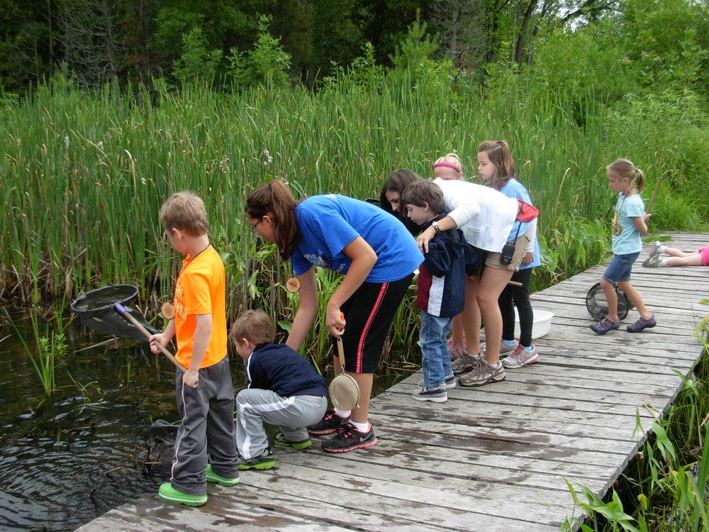 Schlitz Audubon Nature Center Summer Camps