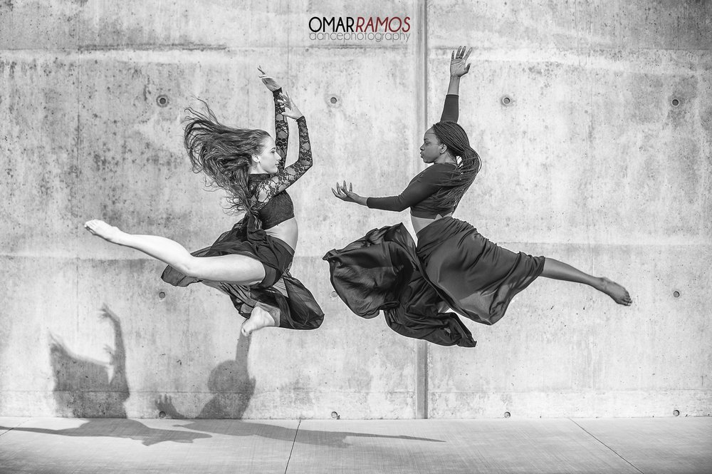 "March 2016 ""Dancers Stephanie Godsave and Zaria Chambers"""